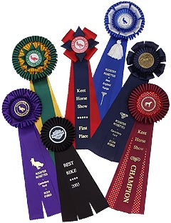 The New England range of rosettes